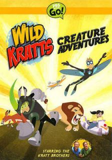 WILD KRATTS: CREATURE ADVENTURES   NEW DVD BOXSET