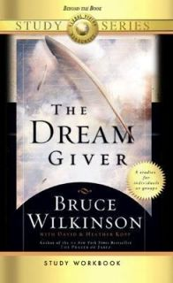 the dream giver by bruce wilkinson essay The dream giver [bruce wilkinson, david kopp, heather kopp] on amazoncom free shipping on qualifying offers bestselling author bruce wilkinson shows how.