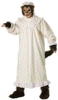 big bad wolf big tall adult mens halloween costume more