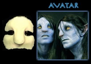 halloween foam latex avatar face brows mask lot time left