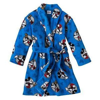 Disney Mickey Mouse And Friends Mickey Mouse Fleece Robe Toddler Boy