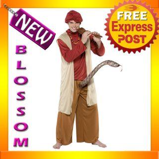 c201 snake charmer humourous mens bucks costume large from australia