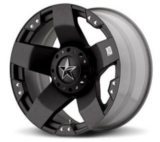 xd rockstar black 20x8 5 chevy gmc ford dodge jeep