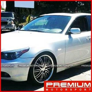 20 inch rims wheels XIX X23 BMW 525i 528i 530i 535i RIMS .5 6 SERIES