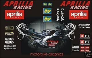 aprilia rs racing dragon stickers decals graphics from united kingdom