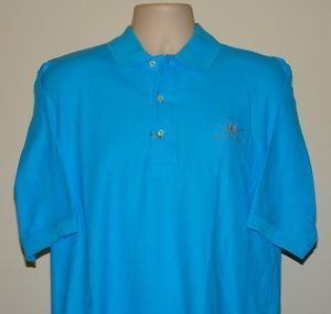 Bertram Yacht Sport Fishing Boat Mens Outerbanks Pique Polo Shirt