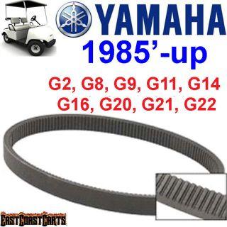 Yamaha Golf Cart Clutch Drive Belt G2, G8, G9, G14, G16, G20, G21