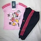 NEW ADIDAS DISNEY MINNIE MOUSE BABY GIRLS SET PINK/NAVY/YELL​OW