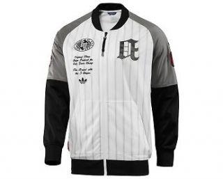 ED~Adidas BASEBALL Track sweat shirt Jacket Top firebird~Mens XL