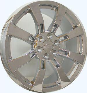 Chrome Wheels Rims Tahoe Suburban Avalanche Denali Yukon New Set 4