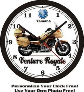 yamaha venture royale wall clock free usa ship time left
