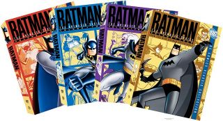 Batman The Animated Series   Vols. 1 4 DVD, 2005, 16 Disc Set