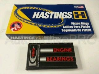 1998 02 Honda CR V B20B Non VTEC Hastings Piston Rings & King Rod