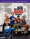 THE BIG BANG THEORY Complete Third Season DVD 3 Disc Set BRAND NEW