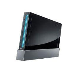 Nintendo Wii Black 512 MB Console