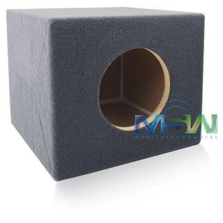 Sealed  BUILT TO SPEC  MDF Enclosure for (1) JL Audio® 8W7