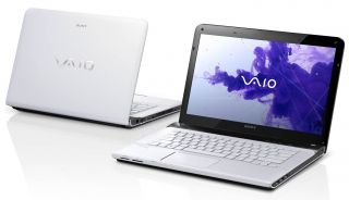 Sony Vaio E14 Series SVE14118FXW 14 inch Laptop White Backlit Keyboard
