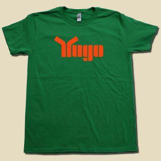 YUGO Automobile Tshirt Classic 1980s Car T Shirt Cool