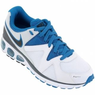 Mens Nike Air Turbulence 17 Running Sneakers New Sale White Royal Blue