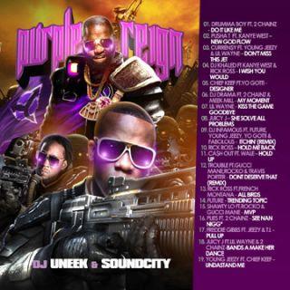 Chainz Pusha T Kanye West Lil Wayne Purple Reign South Rap Hip Hop