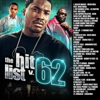 Hip Hop Rap Hits Meek Mill Drake 2 Chainz Rick Ross Hitlist 62 Mixtape
