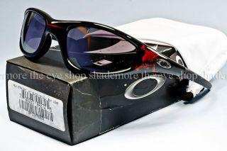 Vintage Oakley New Straight Jacket Sunglasses Blood Skull Black
