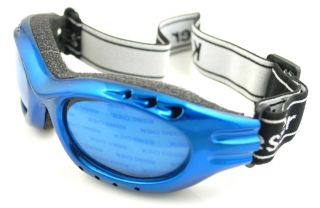2013 New Blue Sports Glasses Ski Goggles Motorcycle Riding Sunglasses