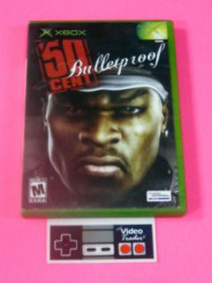 50 Cent Bulletproof Original Xbox Game Complete Nice 020626723817