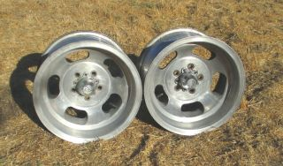 US Indy Slot Mag Wheels/Rims fit Ford Dodge 5x4.5 Mustang Charger