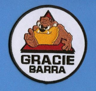 Brazilian Jiu Jitsu Gracie Barra MMA Patch Crest