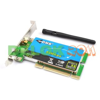 802 11g Wireless G PCI WiFi Network LAN Card Adapter