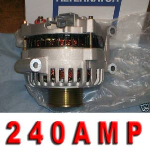 Ford E Van DIESEL Alternator Generator HIGH AMP 6 0L 04 05 2006 F