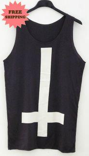 Cross Retro Vintage Tank Top Vest Singlet Tee T Shirt Dress FREE