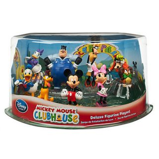 PC Mickey Mouse Clubhouse Figure Playset w Pete Clarabelle Fifi