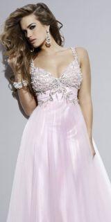 Light Pink Sweetheart Neckline Wedding Prom Dresses Ball Evening Gown