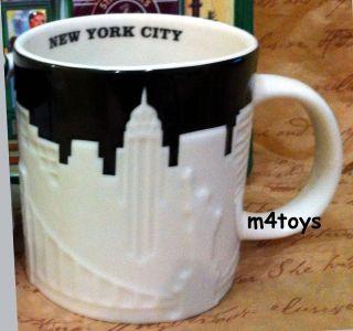 2012 Starbucks New York City Relief Mug New Version