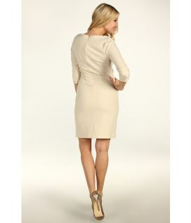 Jessica Simpson Boatneck Drop Waist Dress