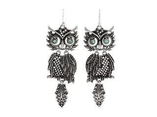 Lucky Brand Long Way From Home Shaky Owl Earrings $35.00 Rated 5
