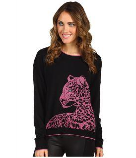 Juicy Couture Snow Leopard Jacquard Sweater