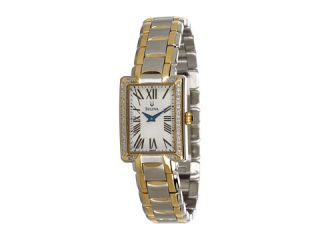 Bulova Ladies Diamond   98R157    BOTH Ways