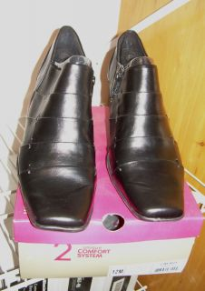 A2 BY AEROSOLES WOMENS SHOES BOOTS SIZE 12 CINERGY BLACK BRAND NEW IN