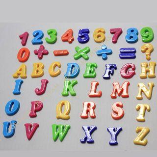 Alphabet Number Sign Fridge Magnet Baby Educational Toy JZ9