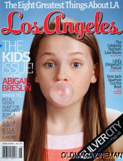 Abigail Breslin Los Angeles Magazine June 2009 Colin Firth Jack