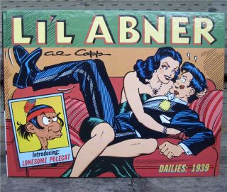 Lil Abner Dailies Vol.5 1939 Hardcover 1st Al Capp LIL ABNER