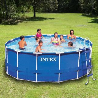 15 x 42 Metal Frame Above Ground Swimming Pool Complete Set