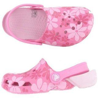 Crocs Electro Kids Tropic Flower 4 13 Infants Kids Sandals