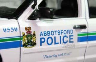 Ford Crown Victoria Abbotsford Police Car 1 18 White