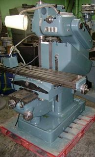Abene Model VHF 3 Combination Vertical and Horizontal Milling Machine