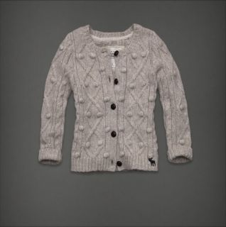 Abercrombie Fitch Women Flagship Button Cardigan Sweater Top Caily XS
