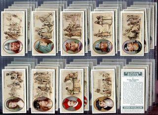 Tobacco Card Set, Mitchell, FAMOUS SCOTS, Scotland, Rob Roy etc, 1933